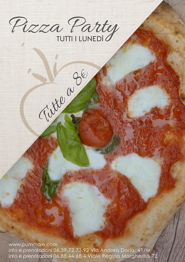 pizza party a roma